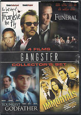 GANGSTER Four-Pack (DVD set) The Immortals, FUNERAL Youngest Godfather LOT NEW