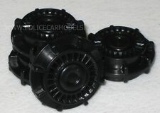 1/18 Police Style Blackout  Wheels For Motormax Ford Crown Victoria  #1905B