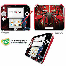 Spiderman Vinyl Skin Sticker for Nintendo 2DS