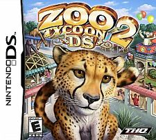 Zoo Tycoon 2 DS (Nintendo DS, 2008) BRAND NEW AND SEALED! ZOO ANIMALS THEME PARK