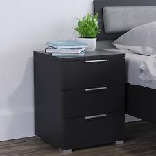 VICCO Nachtschrank Kommode Nachttisch Schublade Ablage Schlafzimmer Schwarz
