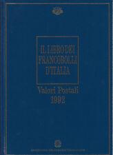 Il libro dei francobolli d'Italia - Valori Postali 1992