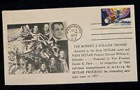 NASA SKYLAB 1974 ASTRONAFT ROBERT j. COLLIER / FDC / ENVELOPE