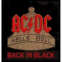 AC/DC - HELLS BELLS - WOVEN PATCH - BRAND NEW - MUSIC BAND 0003