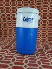 Vintage Coleman Polylite Blue 5590 1/2 Gallon Water Jug Cooler Thermos