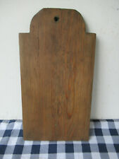 "New ListingVintage Cutting Board, Pine Wood, One Board Width, 13""x7"" Primitive, Blue Paint"