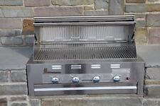 Lazy Man Barbecue - Four Broiler Burners - Built in Grill � Propane Model