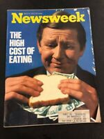 Newsweek Magazine, March 5, 1973, High Cost of Eating, Terry and the Pirates