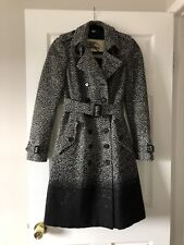 Authentic Burberry $2195 Degrade Herringbone Trenchcoat Size 2