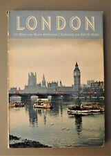 Buch London Bilderbuch 1959 Hürlimann/White Atlantis Verlag Zürich