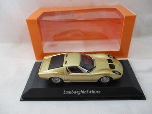 Lamborghini Muira Gold 1966 Maxichamps  940103002