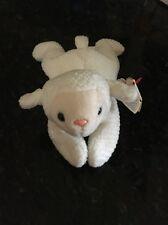 Original TY Beanie 1996 •Fleece the Lamb• Retired