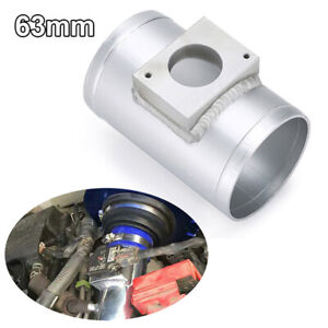 Air Flow Sensor Mount Air Intake Adapter Tube 63mm Fit for Mitsubishi AC