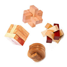 3D Brain Teasers Mind Puzzles Interlocking Assemble Knot Rubic Cube Puzzle Toys