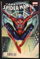 AMAZING SPIDER-MAN #1 Comic Book J SCOTT CAMPBELL 1:50 VARIANT Marvel 2015 NM