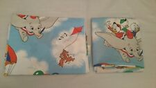 Disney Mickey Mouse Air Mobile Twin Sheet Set Flat Fitted 1 Pillowcase