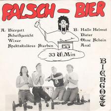 """FALSCH-BIER Biergott 7"""" Vinyl Single (1992 Eigenproduktion) Neu!"""