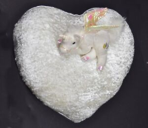 2 Piece Unicorn Heart Cushion Sofa Bed Gift for Her Girls Kids for Birthday