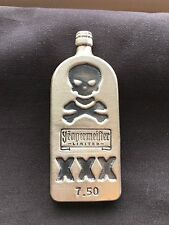 7.50oz Yeagermeister Bottle Poured 999+ Yeager's Poured Silver Bar YPS