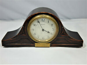 Victorian French Mantel Bracket Clock by Japy Freres