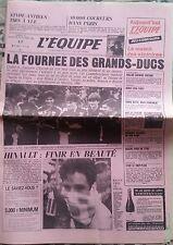 L'Equipe Journal 13-14/10/1985; 6em 20 km de Paris/ Paillou/ Tonna Gratien/ Hina