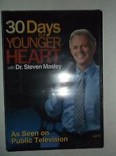 30 Days to a Younger Heart w/ Dr. Steven Masley (DVD, 2014) BRAND NEW, Fitness