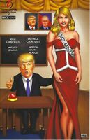 Notti & Nyce #3 TRUMP Homage  Nice Ltd. Ed. 10 P.P.  Comic Book
