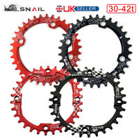 UK STOCK SNAIL 104mmBCD 30-42T MTB Road Bike Narrow Wide Chainset Chainring