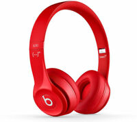 BEATS BY DR DRE SOLO 2 WIRED HEADBAND EAR-PAD HEADPHONES PRODUCT RED MH8Y2ZM/A