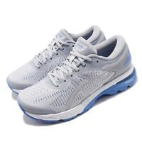 Asics Gel Kayano 25 D Wide Grey Blue Coast Women Running Shoes 1012A032-022