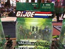 2003 GI Joe Valor vs Venom 2 Pack Action Figure MOC - SHIPWRECK & ELECTRIC EEL