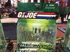 2003 GI Joe Valor vs Venom 2 Pack Action Figure MOC - SHIPWRECK & ELECTRIC EEL