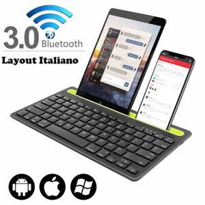 TASTIERA BLUETOOTH 3.0 KEYBOARD PER SMARTPHONE TABLET ANDROID SAMSUNG HUAWEI