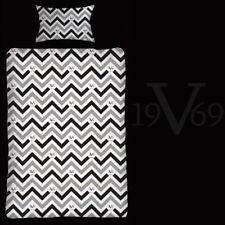 Cotton Sateen Buttoned Modern Bedding Sets & Duvet Covers