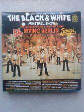 Black and White Minstrel Show Irving Berlin LP 33rpm Vinyl Record MINT