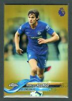 2019 MARCOS ALONSO 21/50 TOPPS CHROME PREMIER LEAGUE