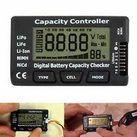 LiPo Tester V2 Batterie Akku Kapazität Spannung Digital Checker Li-Ion NiMH Nicd