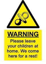 A5 Spass Arbeitsplatz Kinder Rest Aufkleber Spillage Hazard Gesundheit &