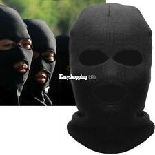 Biker Sports Ski Warm Balaclava 3 Hole Full Face Mask