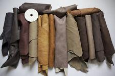 1kg Beautiful Large scraps/ Off cuts Leather Italian -100gr GIFT