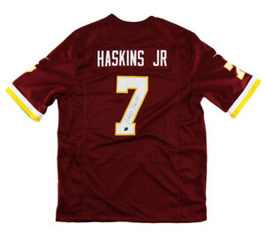 Dwayne Haskins Signed Washington Nike Limited Maroon Jersey