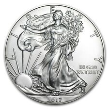 Piece argent silver Eagle 2017 1 dollar 1 once argent pur silver coin USA