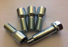 1 X M14X1.5 SILVER 60° ALLOY WHEEL BOLTS 55mm THREAD FOR ALFA ROMEO BRERA
