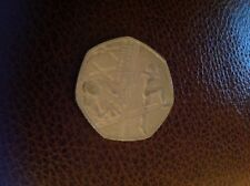 50p fifty pence coin- 2014 Glasgow XX Commonwealth Games. Rare Collector Coins