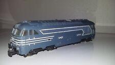 locomotive diesel bb 67001 jouef châssis plastique moustache arrière non peinte