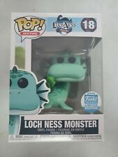 Funko Pop!#18 Loch Ness Monster Funko Shop Exclusive With Pop Protector
