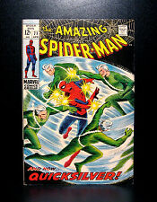 COMICS: Amazing Spiderman #71 (1969), 1st Spidey/Quicksilver meeting - RARE