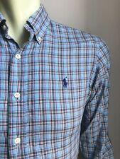 Polo Ralph Lauren Shirt, Tilson Plaid, Oxford, Small, Classic Fit, Exc Cond