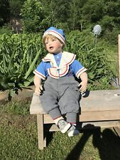 Large Doll , Porcelain, Peyton James by Rosemary Rhodes #1268