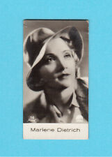 Marlene Dietrich Vintage 1930s Movie Film Star Cigarette Card from Germany #16